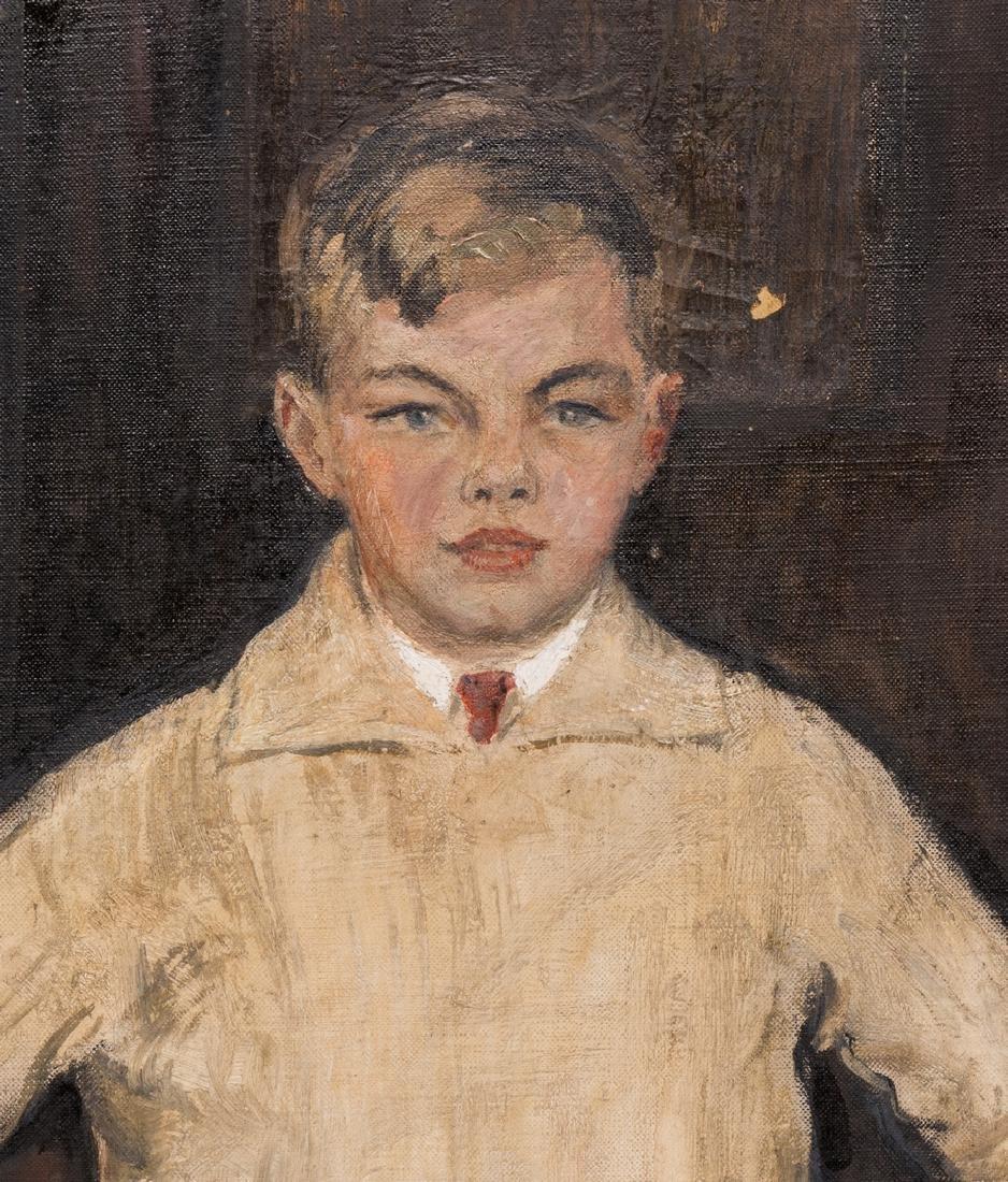 John Rankin Barclay Portrait of 2 Boys in Kilts - 5