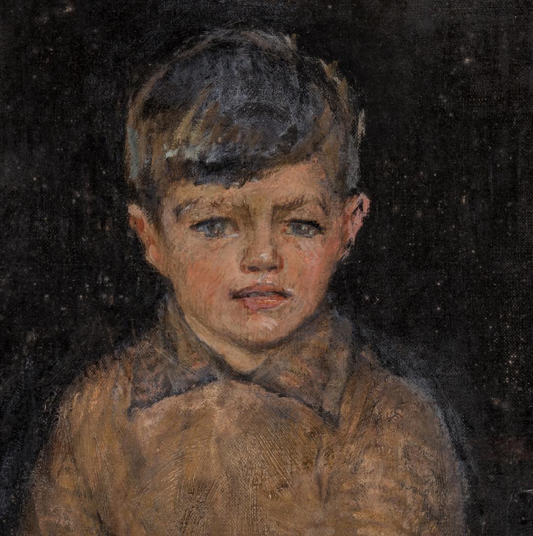 John Rankin Barclay Portrait of 2 Boys in Kilts - 7