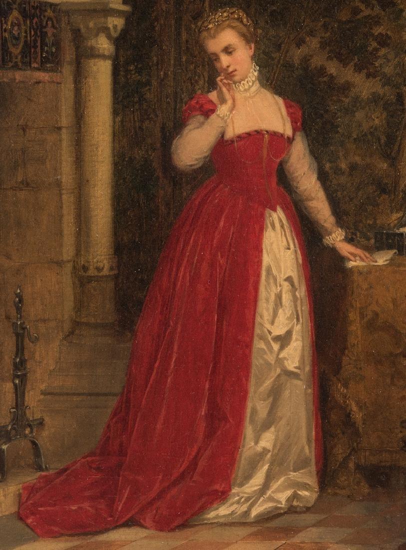 Alboy- Rebovet Oil on Canvas, The Letter - 4