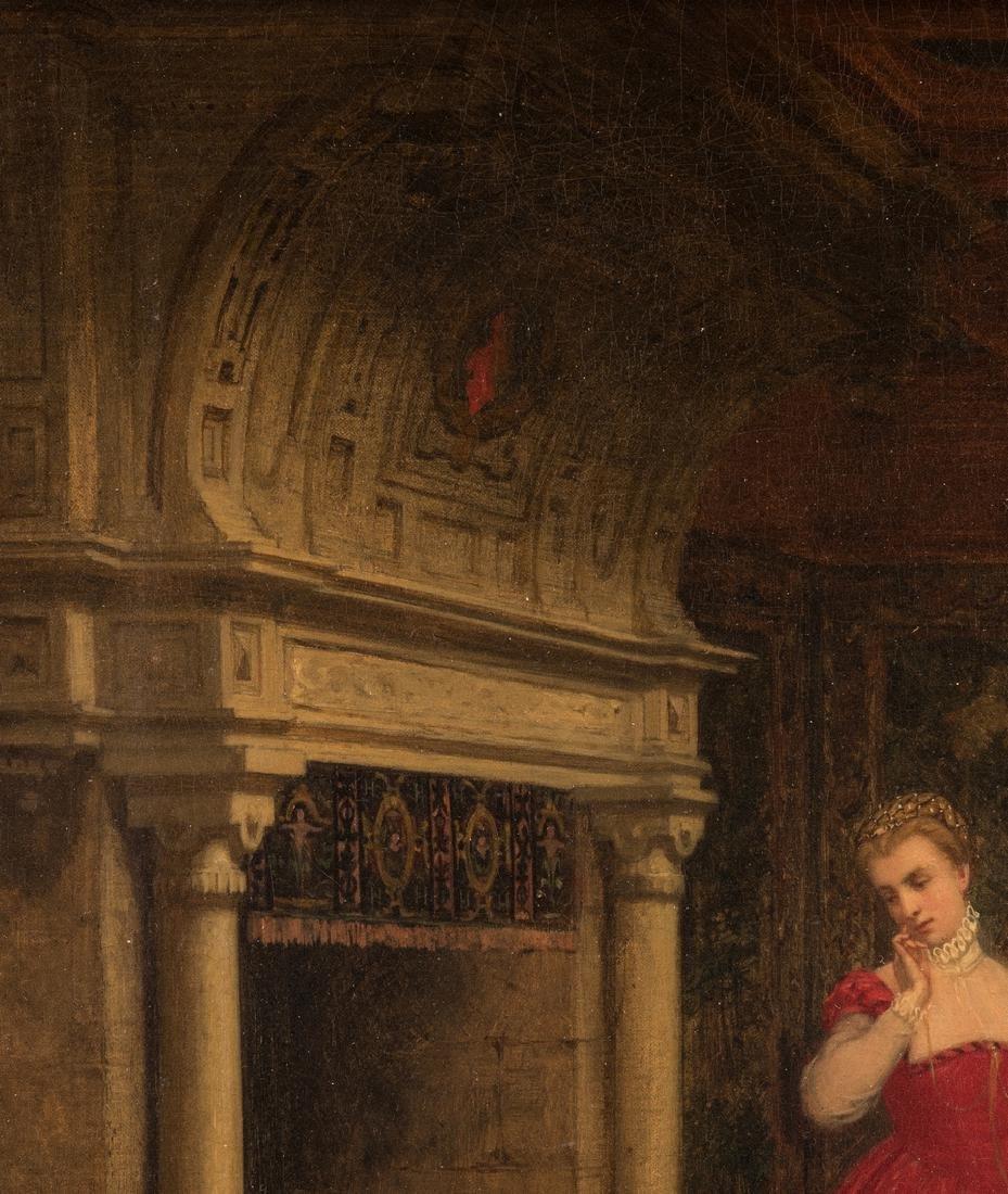 Alboy- Rebovet Oil on Canvas, The Letter - 6