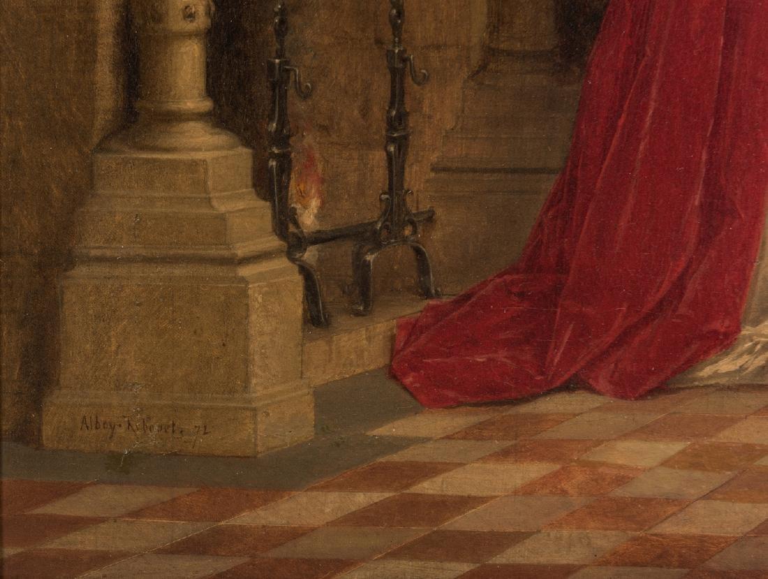 Alboy- Rebovet Oil on Canvas, The Letter - 7
