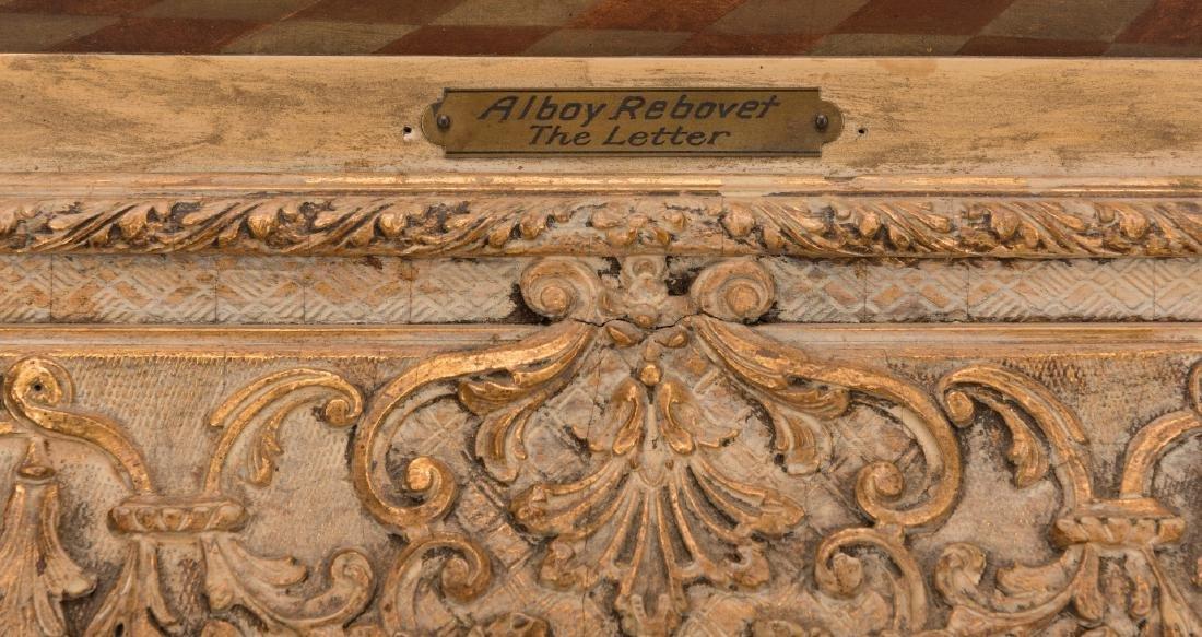 Alboy- Rebovet Oil on Canvas, The Letter - 8