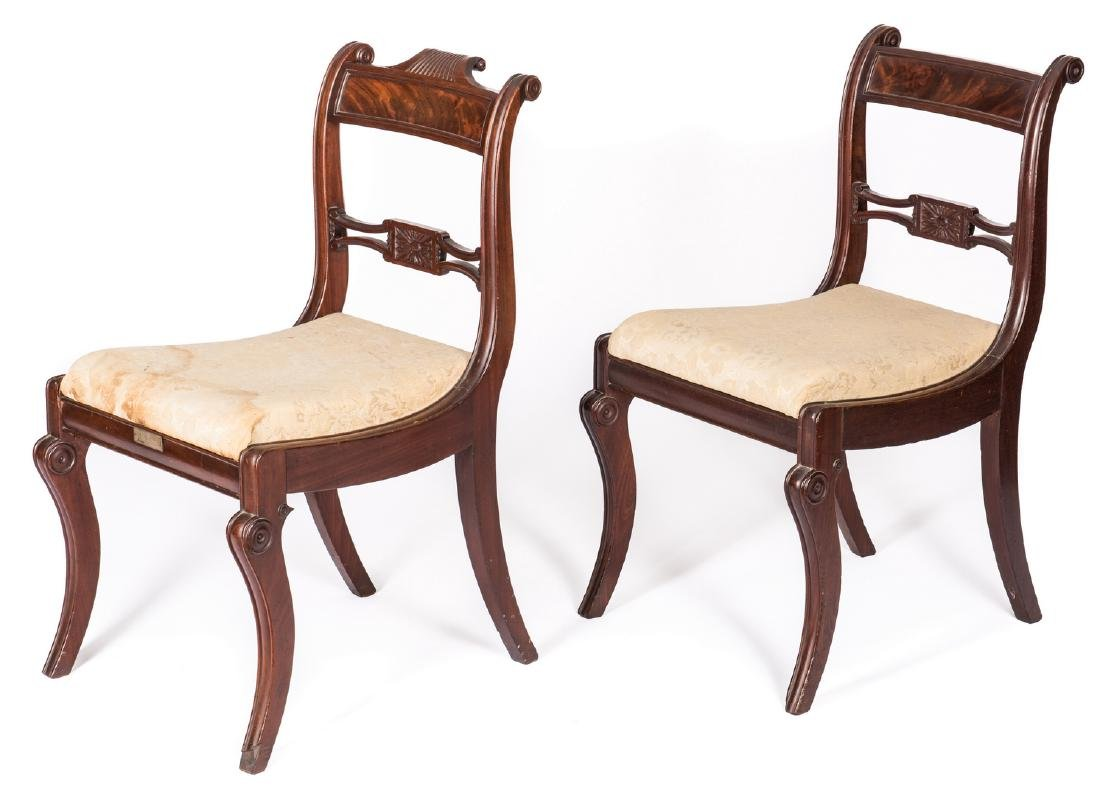 2 Federal Chairs, Gen. Coffee Provenance