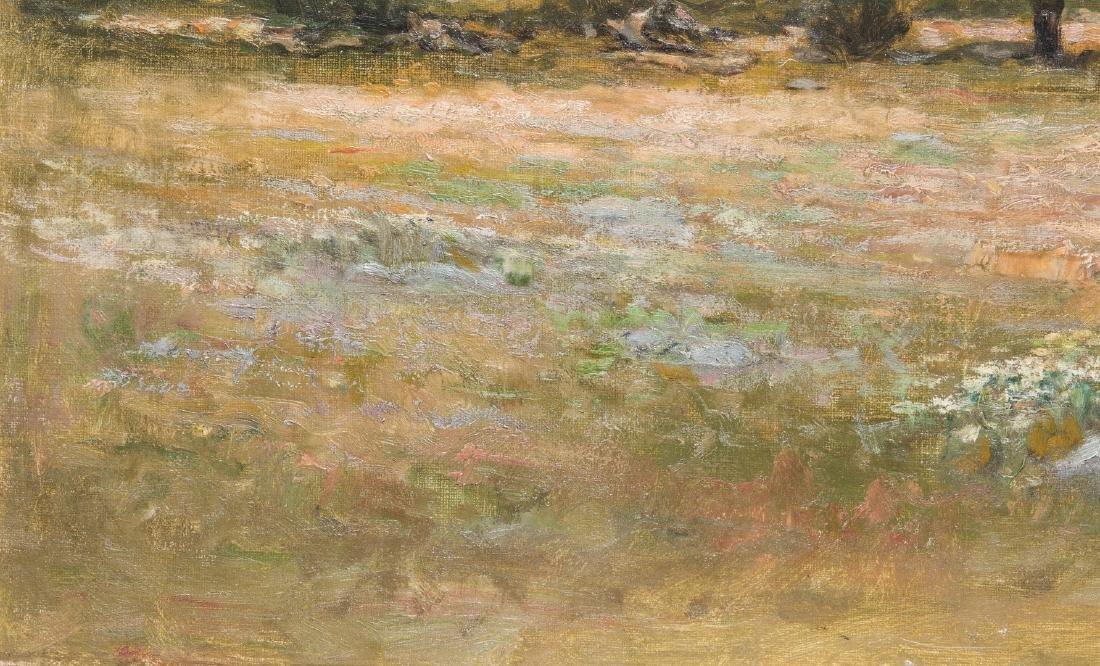 George W. Whitaker, O/C, Barbizon School Landscape - 7