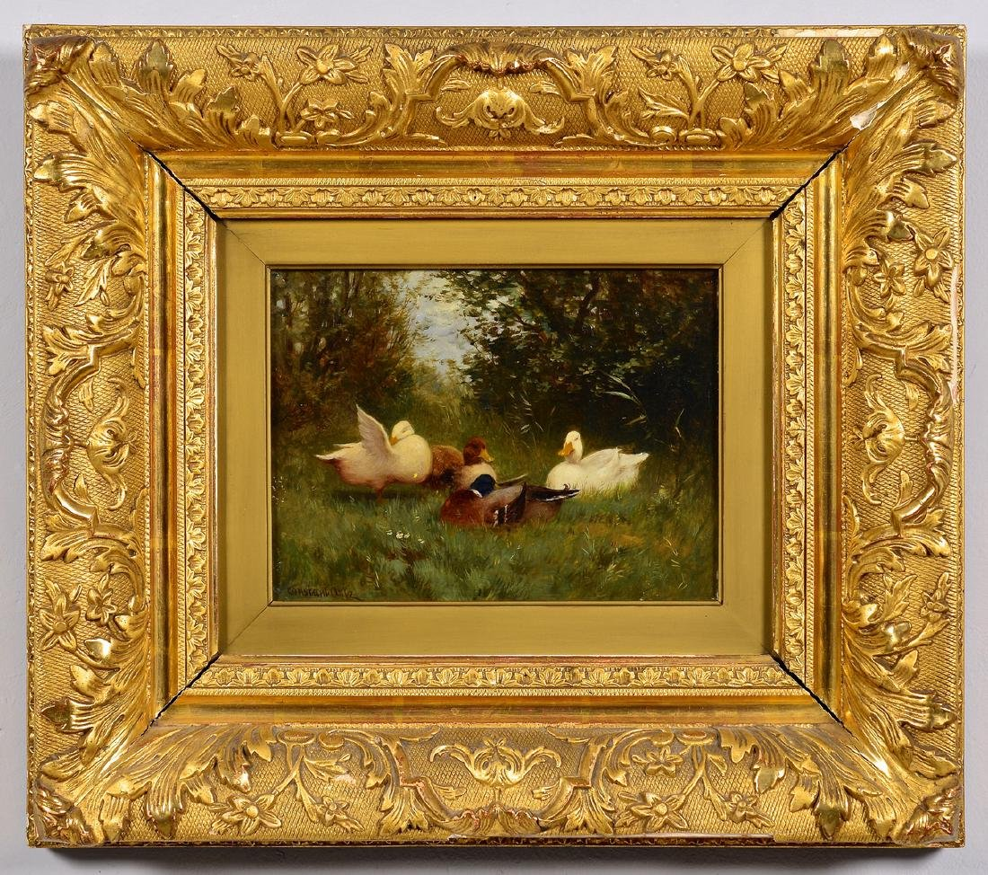 Constant Artz, O/B, Duck Painting - 2