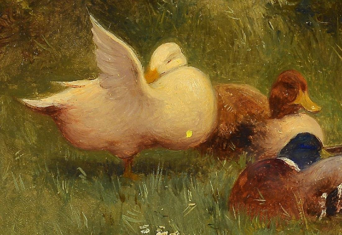 Constant Artz, O/B, Duck Painting - 3