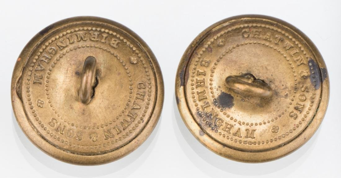 4 Rare Confederate Uniform Buttons, Chatwin & Sons, - 6