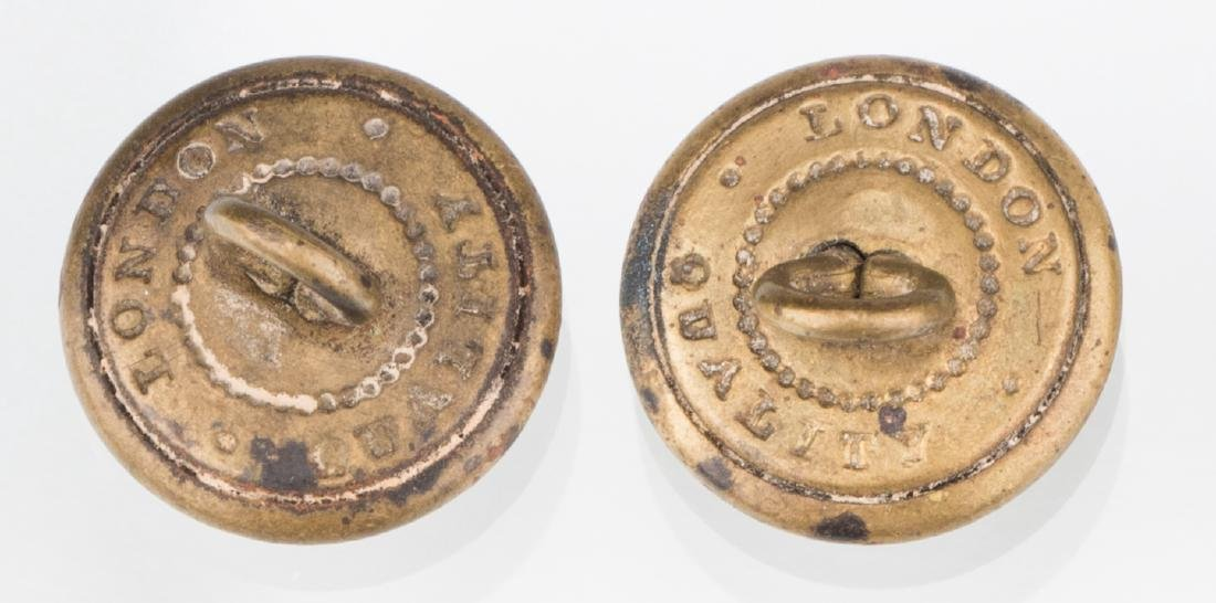 4 Rare Confederate Uniform Buttons, Chatwin & Sons, - 7