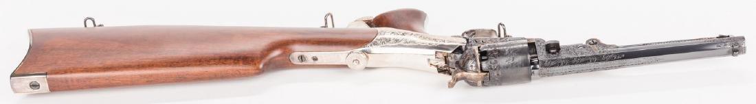 Comm. Jefferson Davis Navy 1851 Revolver, .36 Cal. - 10