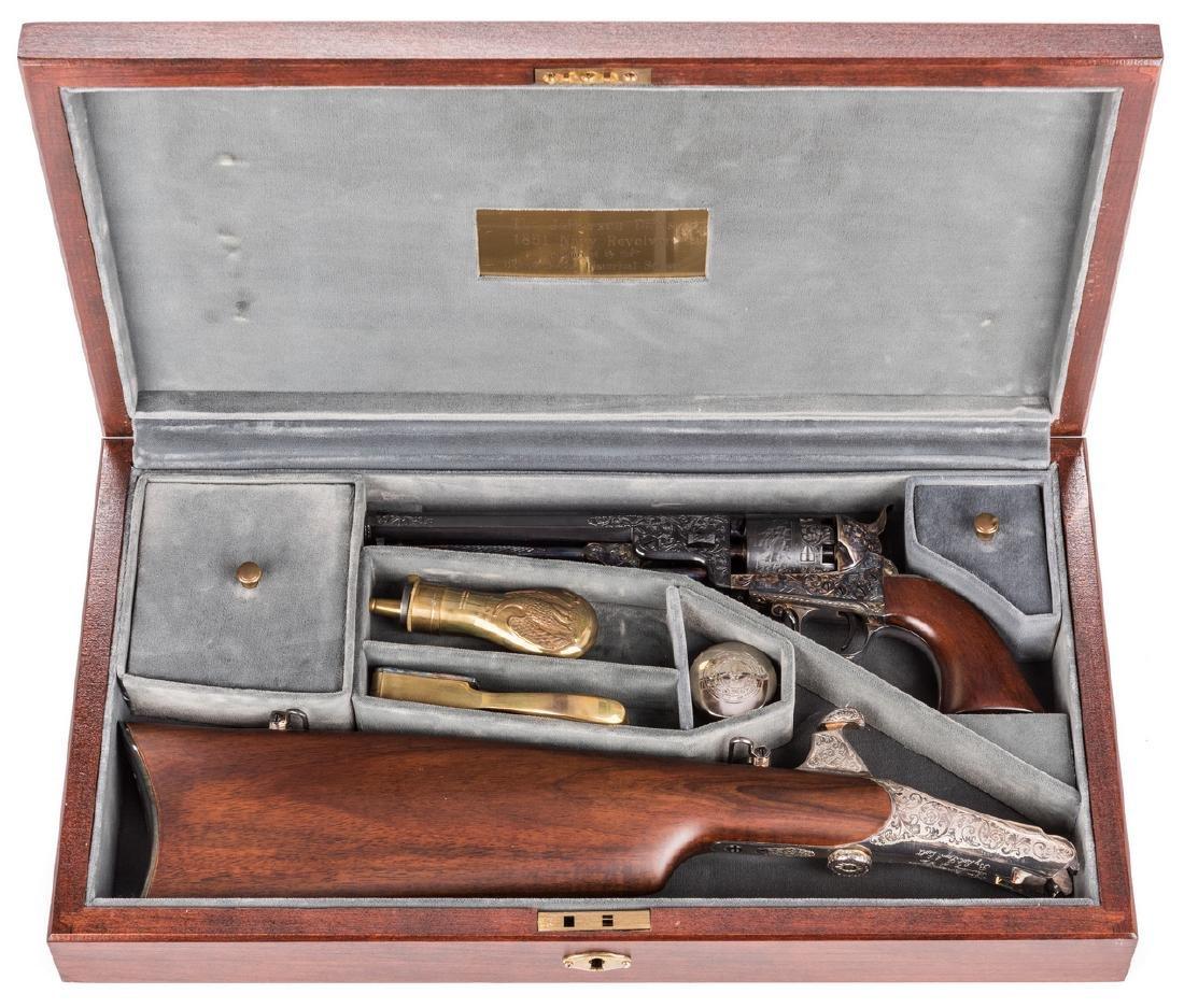 Comm. Jefferson Davis Navy 1851 Revolver, .36 Cal.