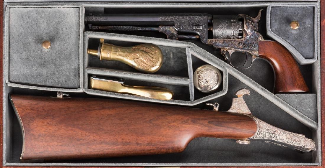 Comm. Jefferson Davis Navy 1851 Revolver, .36 Cal. - 2
