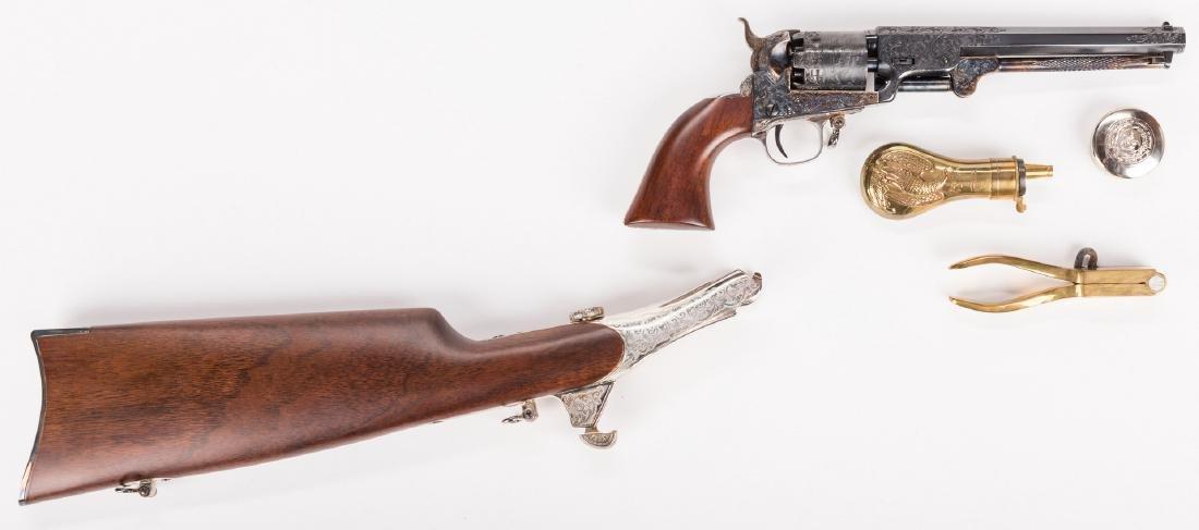 Comm. Jefferson Davis Navy 1851 Revolver, .36 Cal. - 3