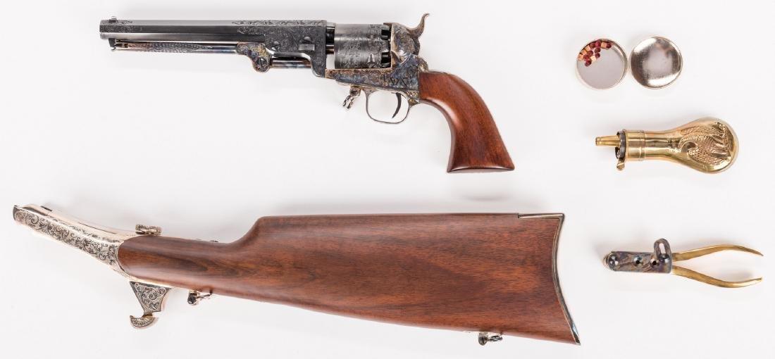 Comm. Jefferson Davis Navy 1851 Revolver, .36 Cal. - 4