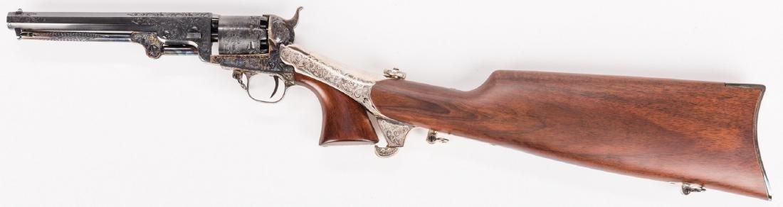 Comm. Jefferson Davis Navy 1851 Revolver, .36 Cal. - 5