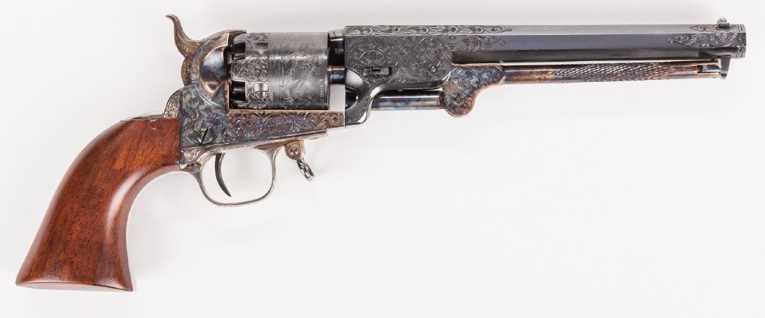 Comm. Jefferson Davis Navy 1851 Revolver, .36 Cal. - 8