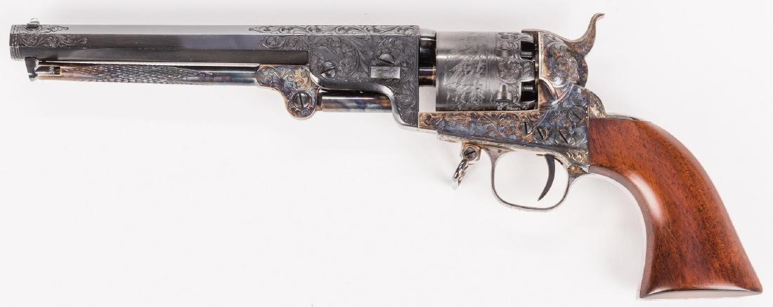Comm. Jefferson Davis Navy 1851 Revolver, .36 Cal. - 9