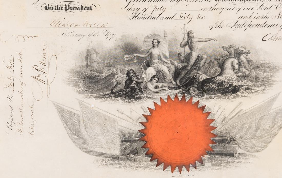 2 President Andrew Johnson War Commission Documents: - 3