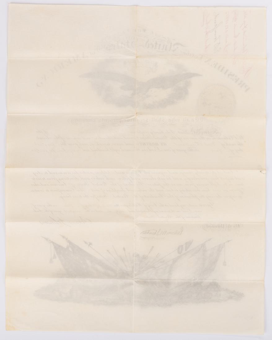 2 President Andrew Johnson War Commission Documents: - 7