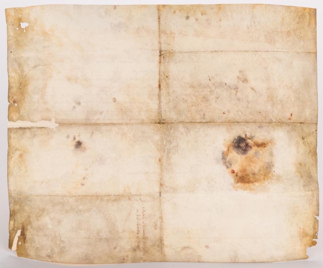 President Polk and Buchanan Signed Document, 1848 - 5
