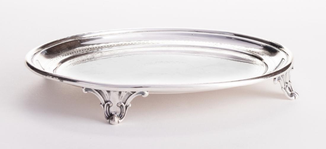 George Sharp, Philadelphia Silver Oval Salver - 3