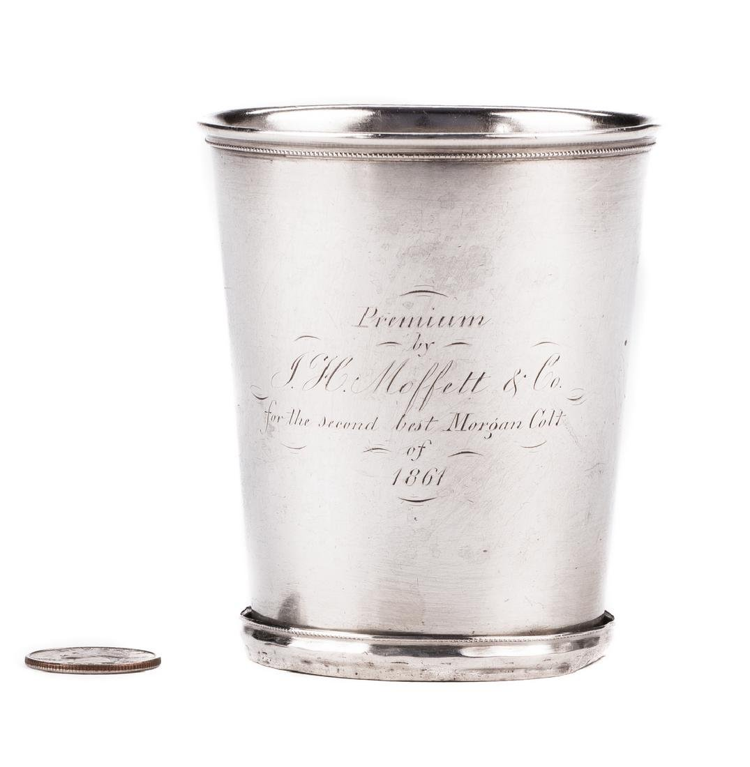 """KY Coin Silver Julep Cup, Prize for """"2nd Best Morgan"""