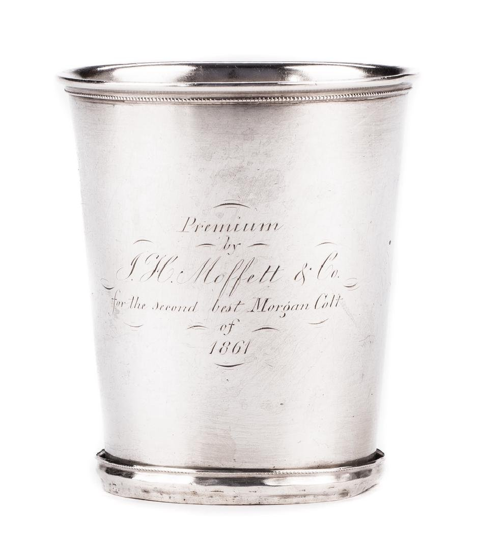 """KY Coin Silver Julep Cup, Prize for """"2nd Best Morgan - 2"""