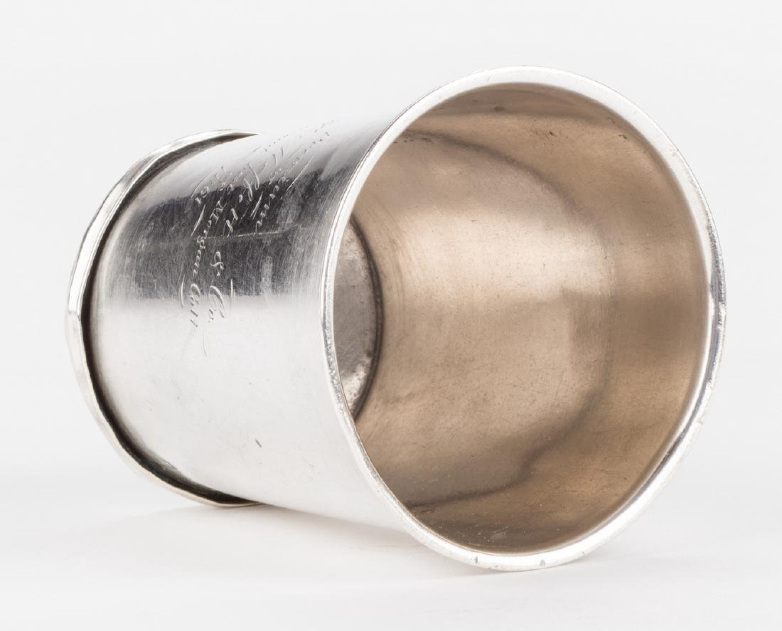 """KY Coin Silver Julep Cup, Prize for """"2nd Best Morgan - 9"""