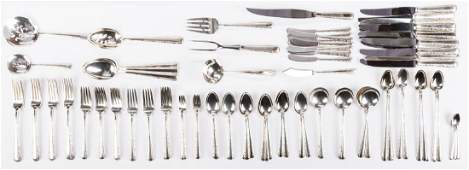 Towle Candlelight Sterling Flatware 110 pcs