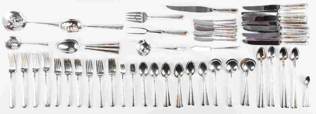 Towle Candlelight Sterling Flatware, 110 pcs