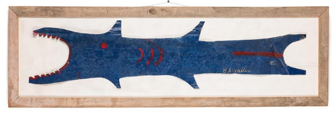 3 R. A. Miller Folk Art Plaques - 4