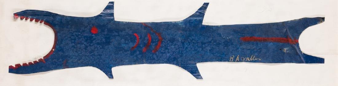 3 R. A. Miller Folk Art Plaques - 5