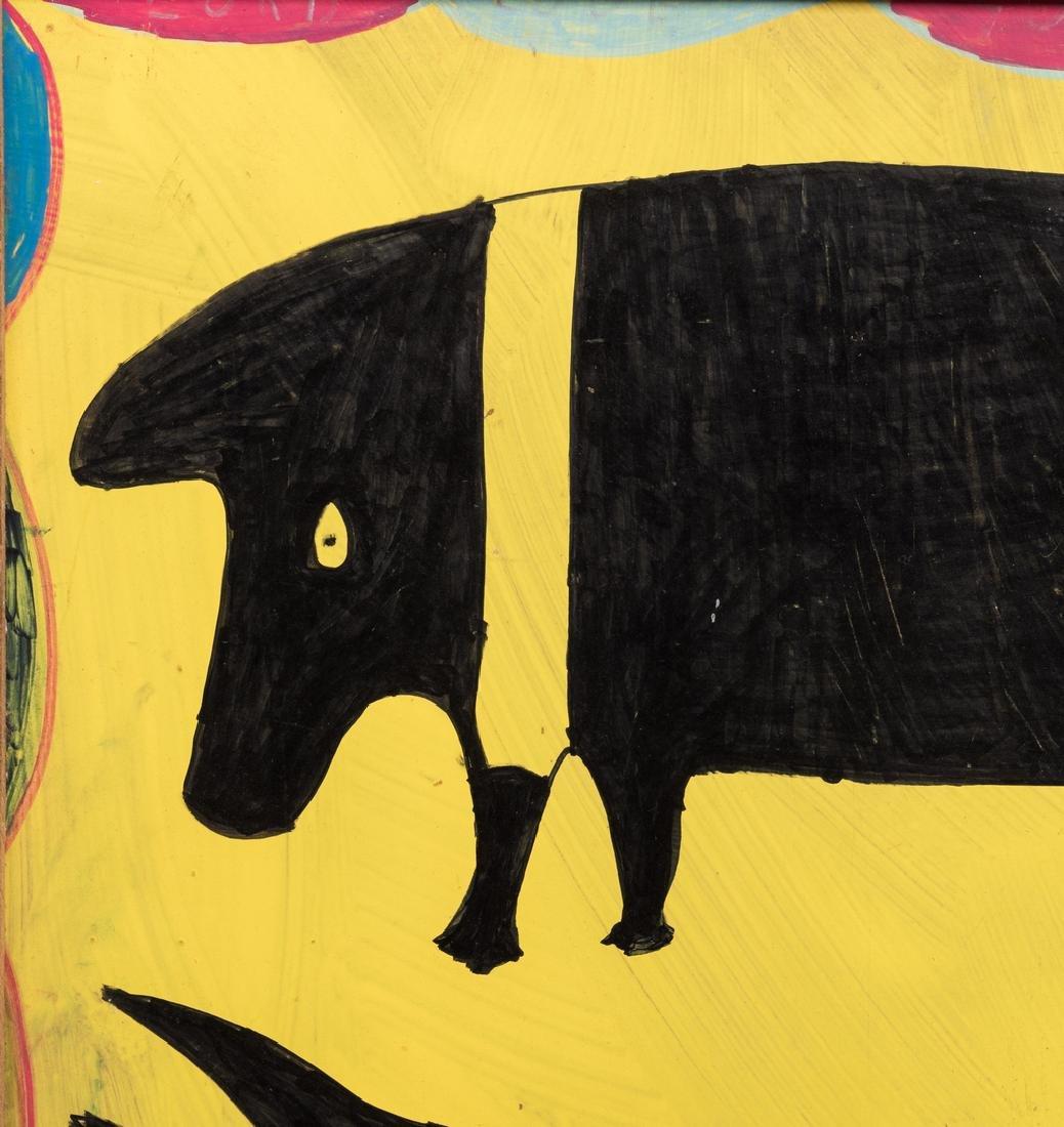 3 R. A. Miller Folk Art Plaques - 9