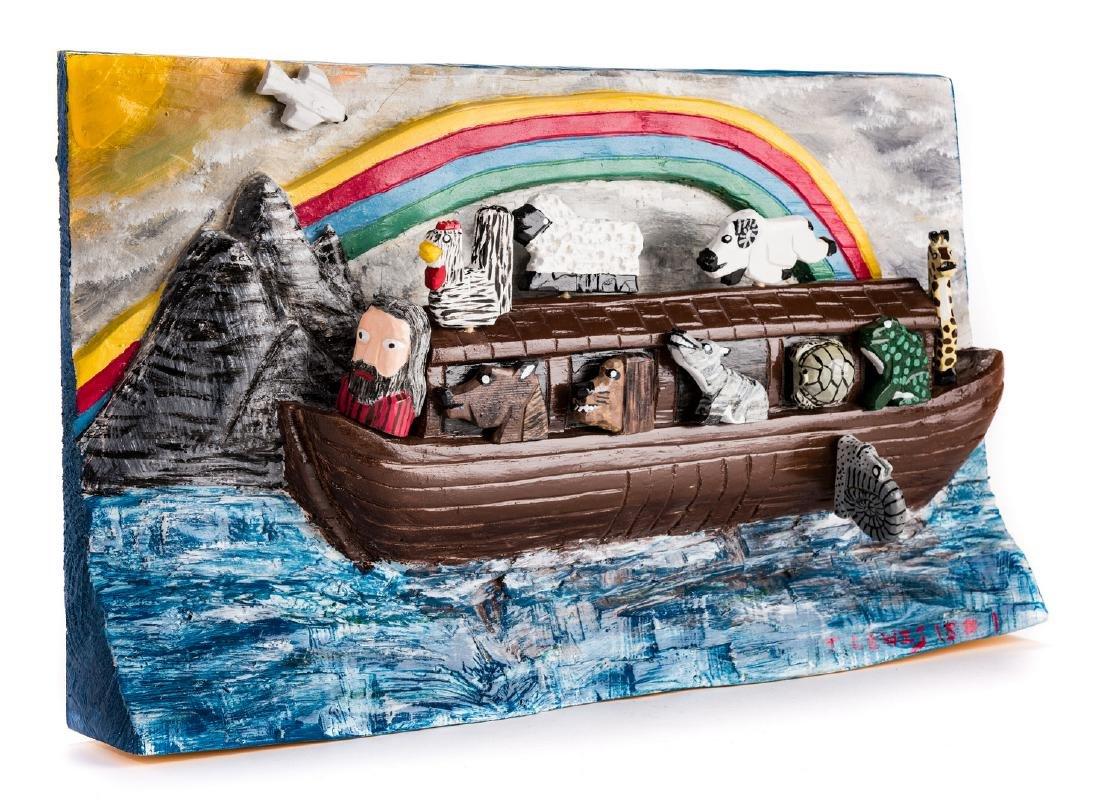 Tim Lewis Relief Carving, Noah's Ark