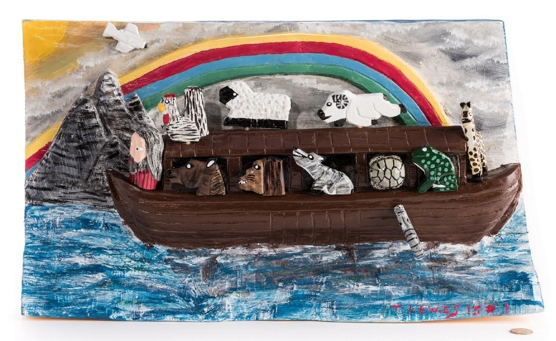 Tim Lewis Relief Carving, Noah's Ark - 2