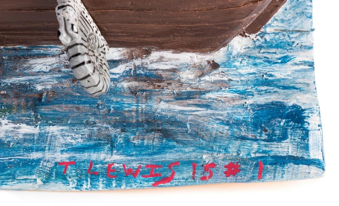 Tim Lewis Relief Carving, Noah's Ark - 3