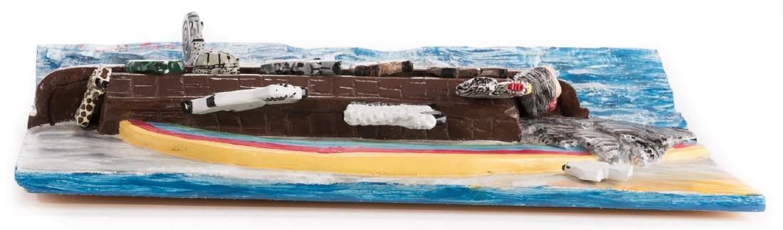 Tim Lewis Relief Carving, Noah's Ark - 8
