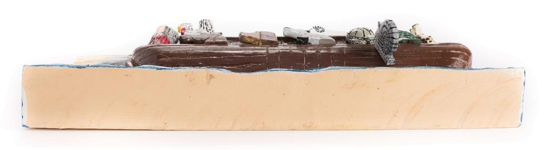 Tim Lewis Relief Carving, Noah's Ark - 9