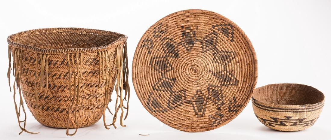 3 Native American Baskets, inc. Havasupai