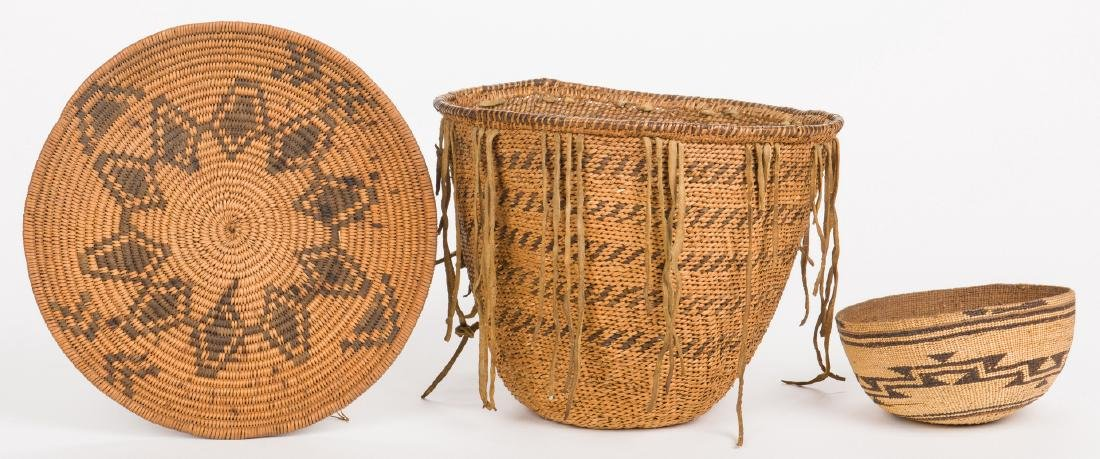 3 Native American Baskets, inc. Havasupai - 9