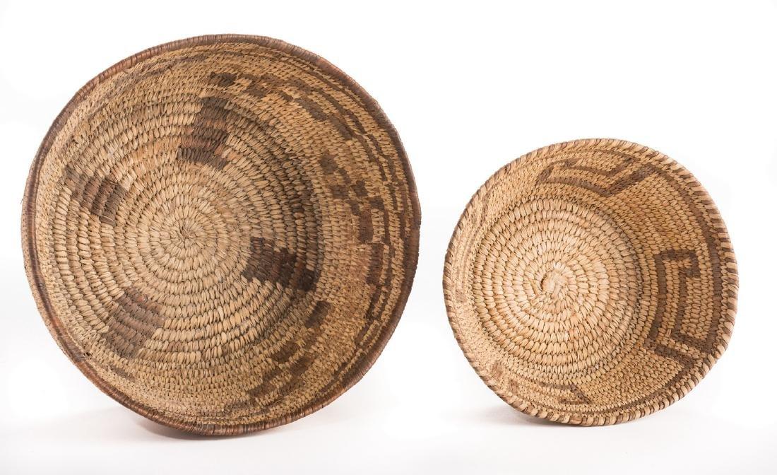 6 Native American Papago Baskets - 10