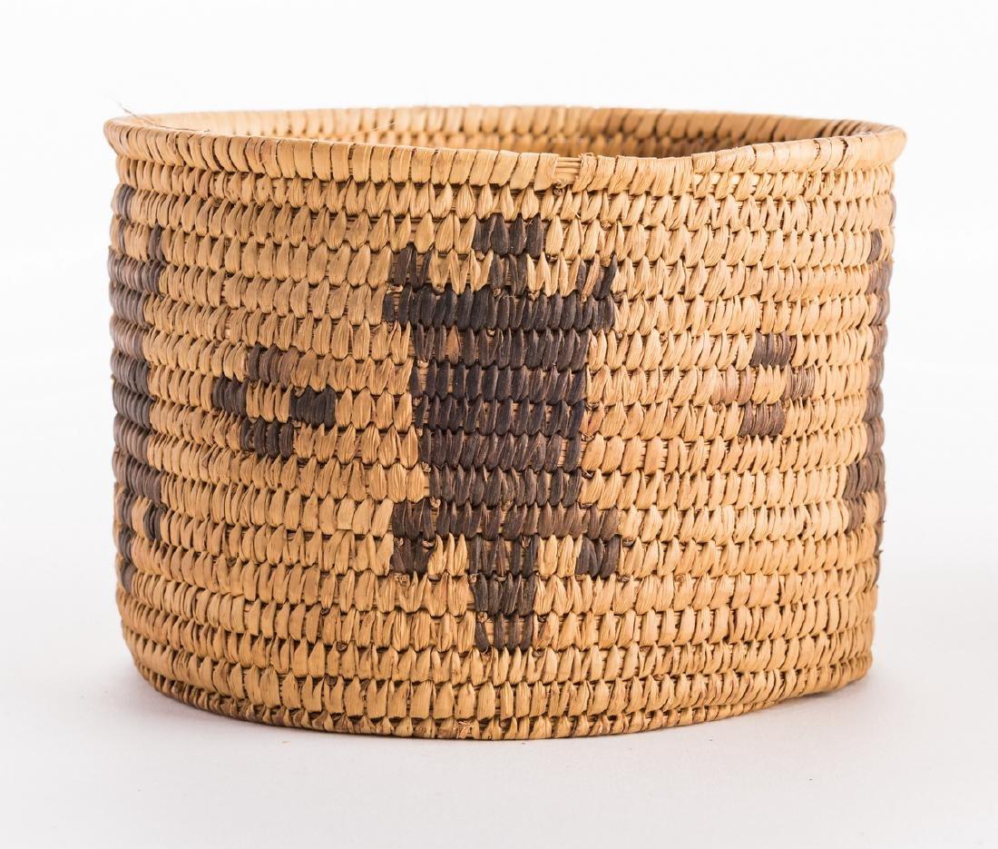 6 Native American Papago Baskets - 6
