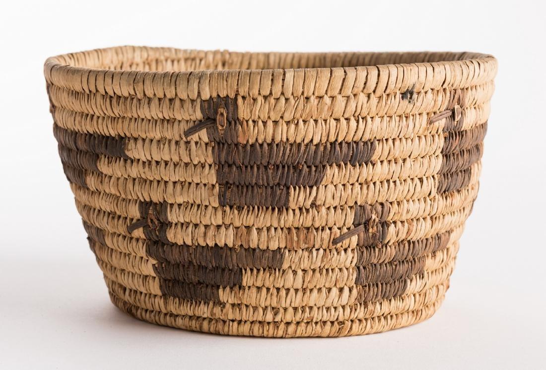 6 Native American Papago Baskets - 7