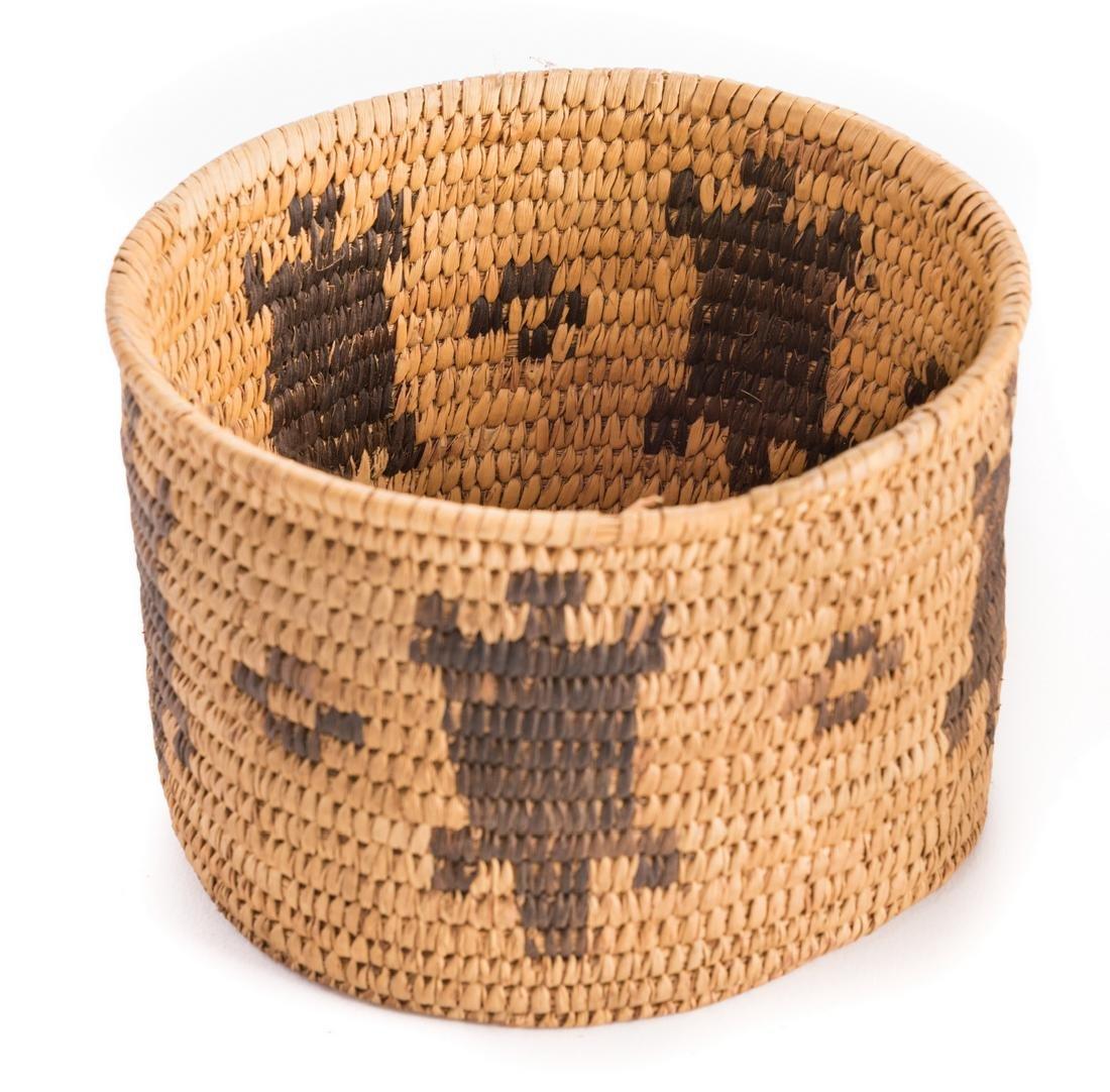 6 Native American Papago Baskets - 8