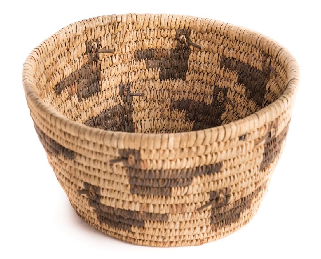 6 Native American Papago Baskets - 9