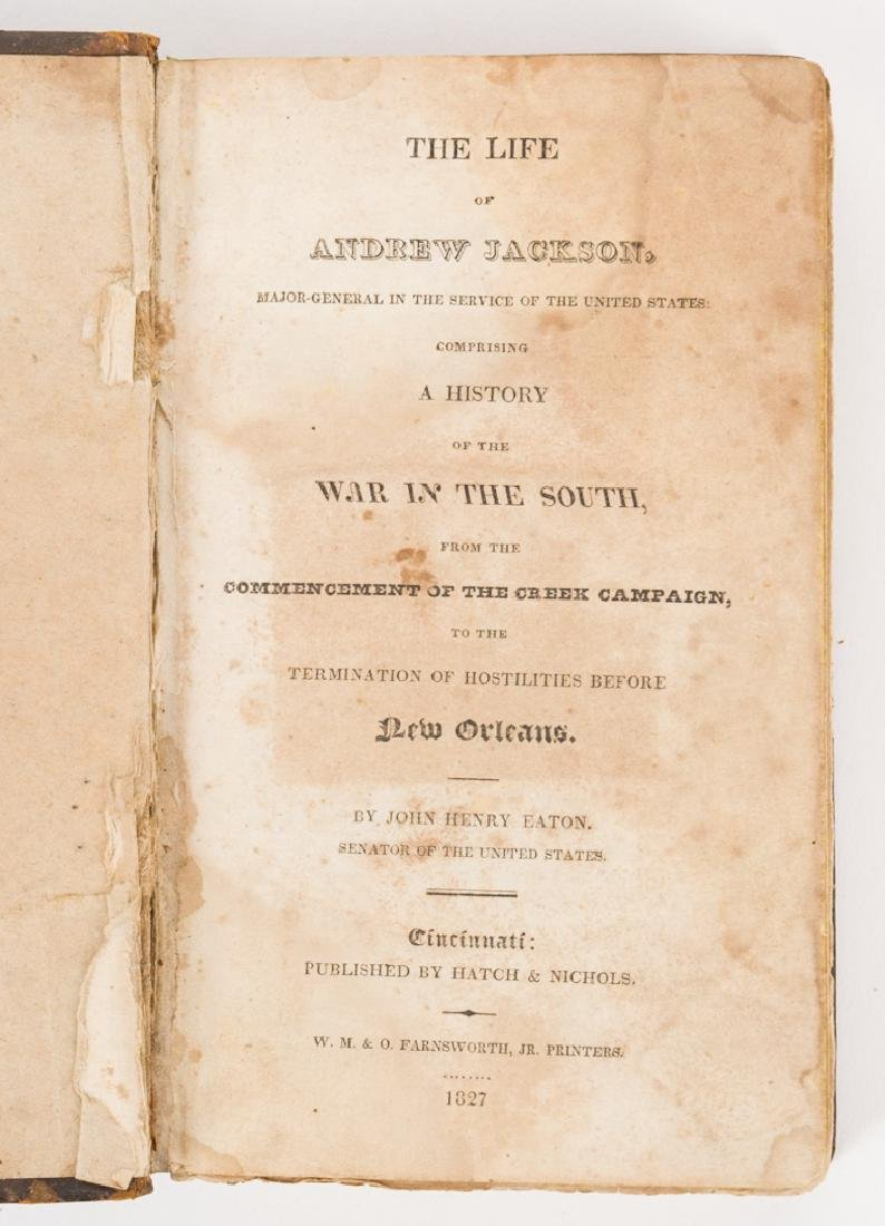 4 Andrew Jackson Related Historical Books - 3