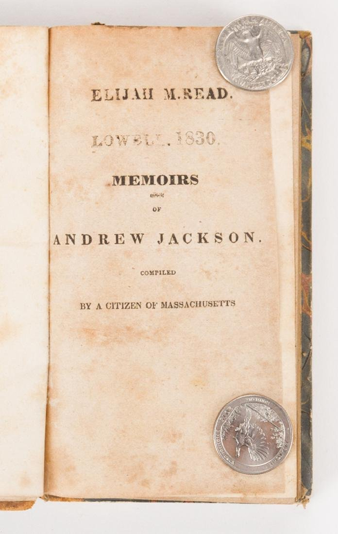4 Andrew Jackson Related Historical Books - 5