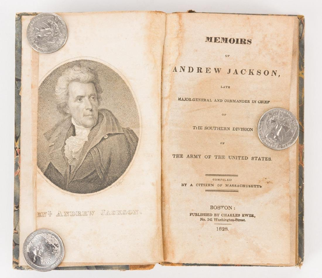 4 Andrew Jackson Related Historical Books - 6
