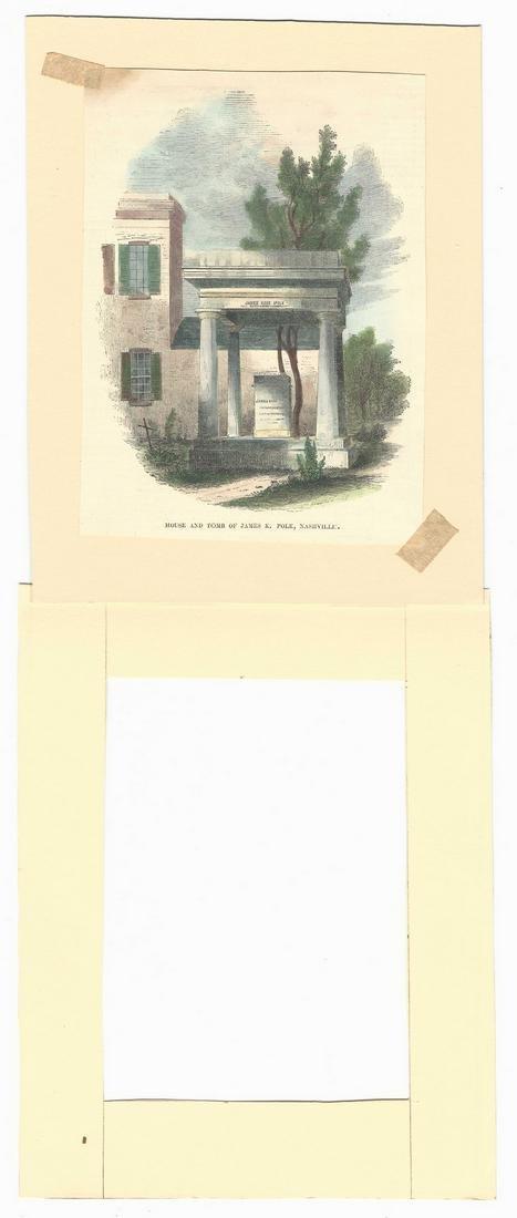 James K. Polk Ephemera, 6 items - 10
