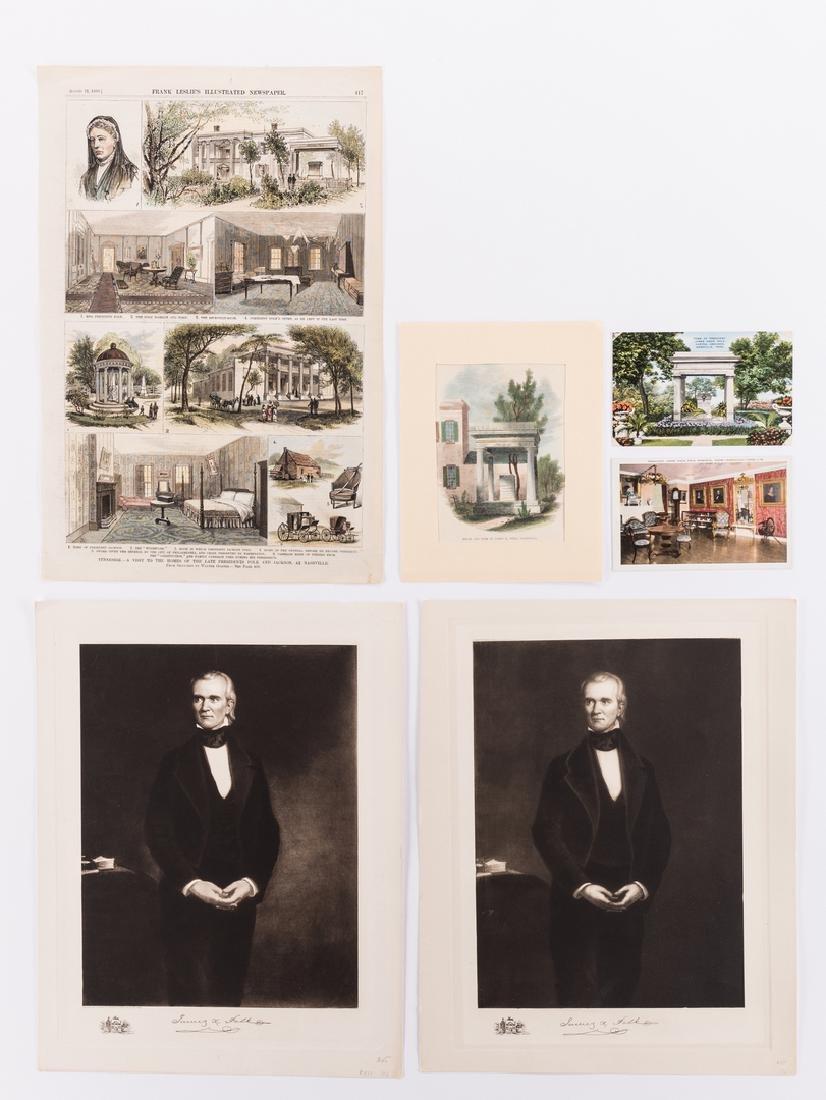 James K. Polk Ephemera, 6 items