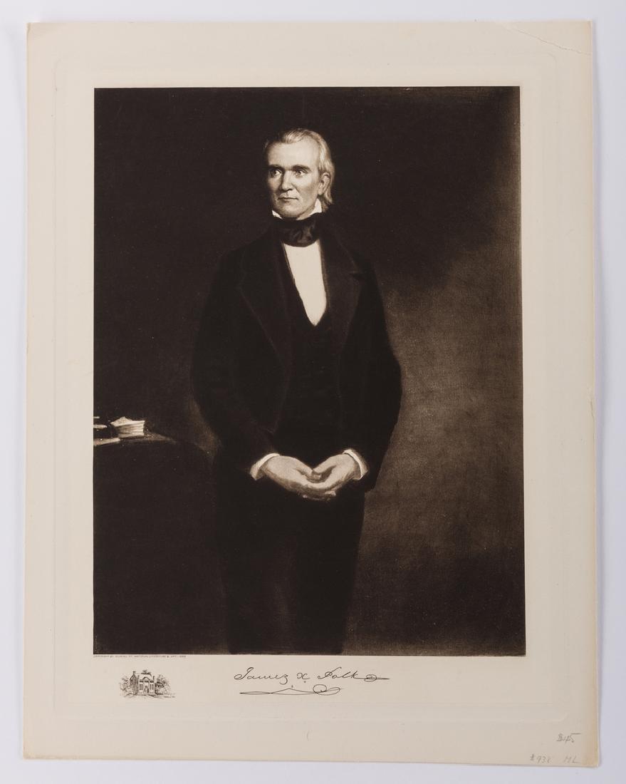 James K. Polk Ephemera, 6 items - 2